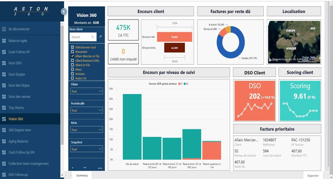 Your business dashboards available in 1 click